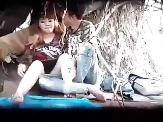 Myanmar spying young couple outdoor sex 24 1