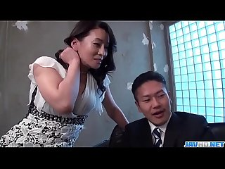 Rei Kitajima great fuck scenes of office hardcore - More at javhd.net