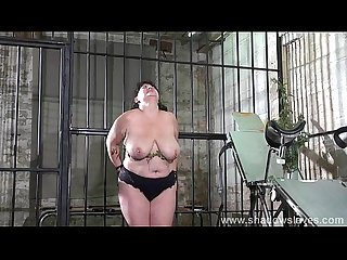 Extreme Amateur Bdsm of whipped and stinging nettle bbw slaveslut andre