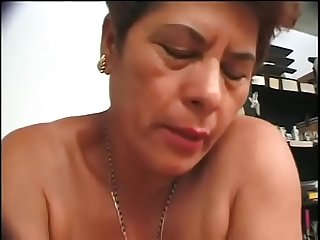 2 ugly granny milf latina whores picked up and fucked