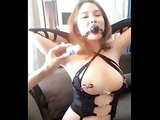 02 Homemade cute Chinese Girl playing sm with boyfriend girlseekers com