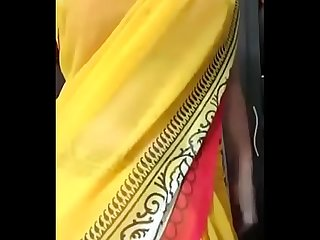 Desi tamil gf in saree seduces bf stripping milf desixporn period com