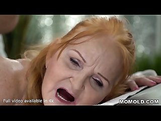 Mature Sexy GILF Marianne Drilled by Young Massage Therapist