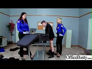 Hard Sex Tape In Office With Big Round Tits Sexy Girl (Alison Tyler & Julia Ann) video-01