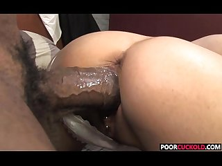 Sexy Hotwife lou charmelle gets fucked by bbc while cuckold watchingd watching