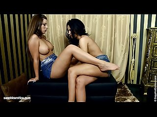 Ottoman Affair - by Sapphic Erotica lesbian sex with Debbie Capry