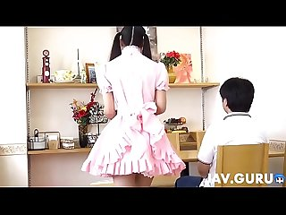 The best blowjob in japanese maid costume history 1