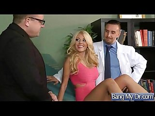 Hard sex in doctor office with horny patient Kayla kayden Vid 15