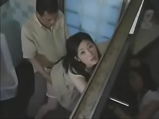 2 japanese milf swap their husbands in the public Toilet pt2 on hdmilfcam com