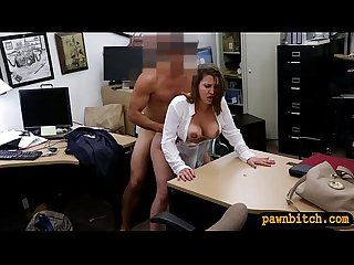 Foxy business lady fucked for a ticket