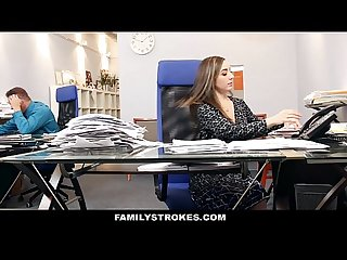 Familystrokes part time step daughter becomes full time slut