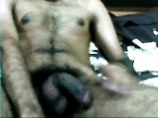 Indian black cock masturbate cumshot