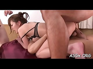 Kinky and wild asian servitude