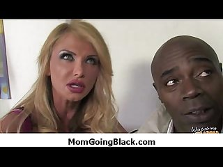 Black monster fucks my moms tight pussy 35