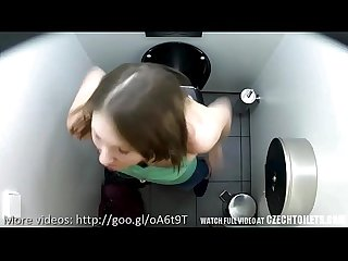 Real hidden spy public piss bio Wc toilets cam czech wc5
