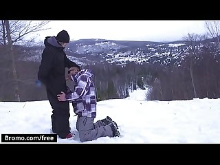 Bromo winter xxx games part 1 scene 1 featuring bo sinn jack kross trailer preview