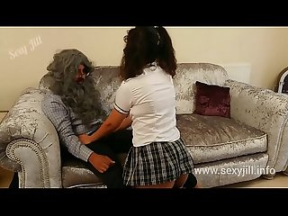 Young slutty British schoolgirl fucks her old teacher to avoid failing class desi amateur sex..