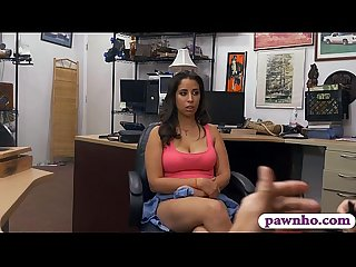 Natural tits babe wrecked by pawn dude at the pawnshop