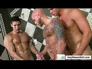Gayhousebait Naked Shower