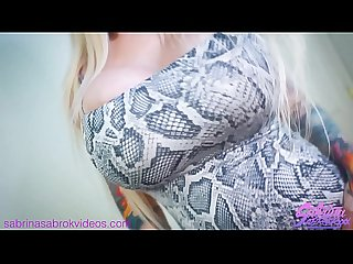 Sabrina Sabrok POV ass fucking huge tits blonde