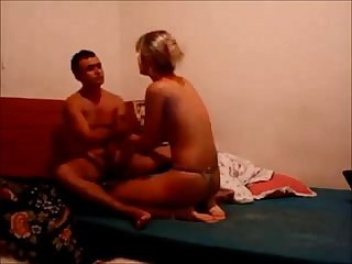 Amateur blonde fucked on homemade