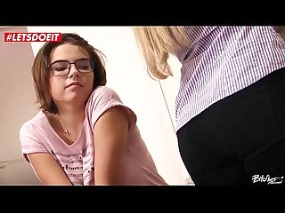 LETSDOEIT - Czech Couple Abuse a Teen Stranger (Barra Brass & Mara Visconti)