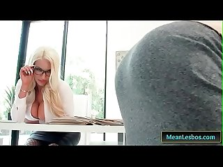 Hot And Mean - Showing Her Who's Boss with Nicolette Shea & Piper Perri clip-01