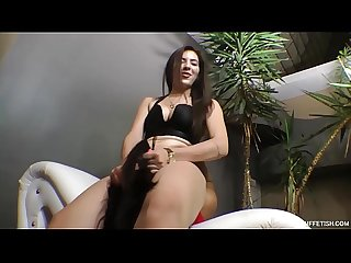 Hard Face Fucking Experience for Slave - Merciless Domination of Beautiful Ass